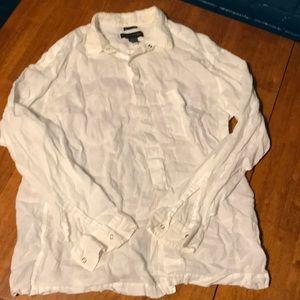 Men's Irish linen Banana Republic shirt
